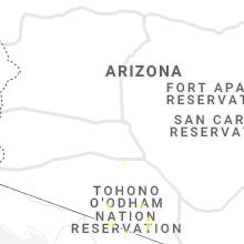 Regional Hail Map for Phoenix, AZ - Tuesday, August 11, 2020
