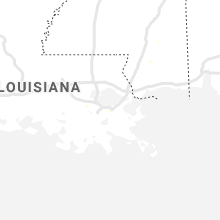 Regional Hail Map for New Orleans, LA - Wednesday, August 12, 2020
