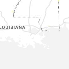 Regional Hail Map for New Orleans, LA - Thursday, August 13, 2020