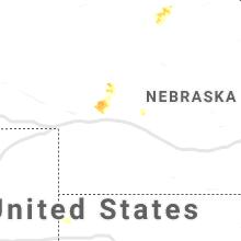 Regional Hail Map for North Platte, NE - Thursday, August 13, 2020