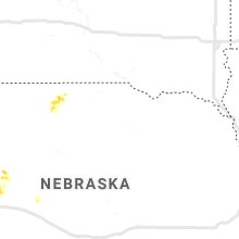Regional Hail Map for Oneill, NE - Thursday, August 13, 2020