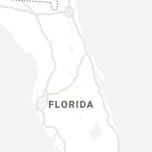 Regional Hail Map for Orlando, FL - Thursday, August 13, 2020