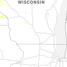 Regional Hail Map for Madison, WI - Friday, August 14, 2020