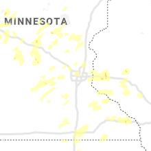 Regional Hail Map for Minneapolis, MN - Friday, August 14, 2020