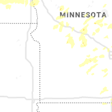 Regional Hail Map for Montevideo, MN - Friday, August 14, 2020