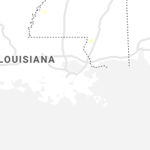 Regional Hail Map for New Orleans, LA - Friday, August 14, 2020