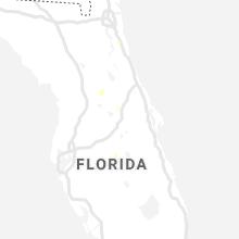 Regional Hail Map for Orlando, FL - Friday, August 14, 2020