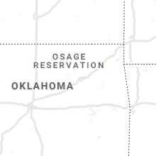 Regional Hail Map for Tulsa, OK - Friday, August 14, 2020