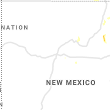 Regional Hail Map for Albuquerque, NM - Saturday, August 15, 2020