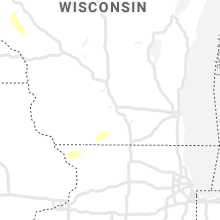 Regional Hail Map for Madison, WI - Saturday, August 15, 2020