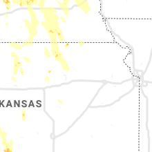 Regional Hail Map for Manhattan, KS - Sunday, August 16, 2020