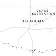 Regional Hail Map for Oklahoma City, OK - Monday, August 17, 2020