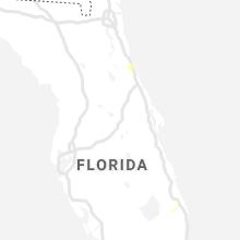 Regional Hail Map for Orlando, FL - Monday, August 17, 2020