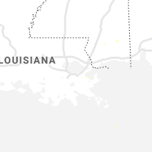 Regional Hail Map for New Orleans, LA - Wednesday, August 19, 2020