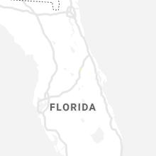 Regional Hail Map for Orlando, FL - Friday, August 21, 2020