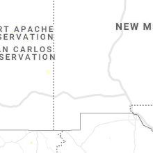 Regional Hail Map for Silver City, NM - Friday, August 21, 2020
