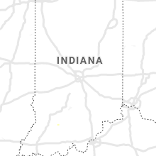 Regional Hail Map for Indianapolis, IN - Saturday, August 22, 2020