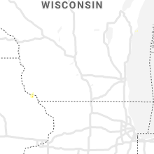 Regional Hail Map for Madison, WI - Saturday, August 22, 2020