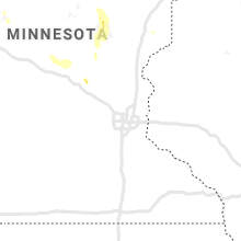 Regional Hail Map for Minneapolis, MN - Saturday, August 22, 2020