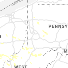 Regional Hail Map for Pittsburgh, PA - Tuesday, August 25, 2020