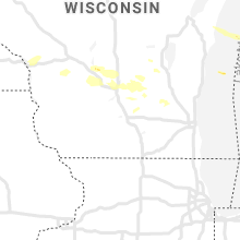 Regional Hail Map for Madison, WI - Thursday, August 27, 2020