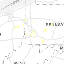 Regional Hail Map for Pittsburgh, PA - Thursday, August 27, 2020