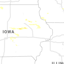 Regional Hail Map for Cedar Rapids, IA - Friday, August 28, 2020