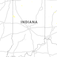 Regional Hail Map for Indianapolis, IN - Friday, August 28, 2020