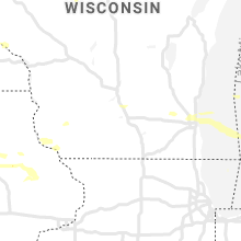 Regional Hail Map for Madison, WI - Friday, August 28, 2020