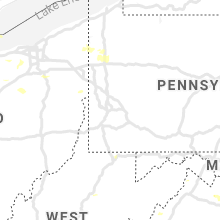 Regional Hail Map for Pittsburgh, PA - Friday, August 28, 2020