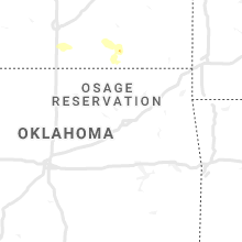 Regional Hail Map for Tulsa, OK - Friday, August 28, 2020