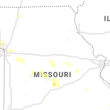 Regional Hail Map for Columbia, MO - Monday, August 31, 2020