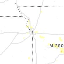 Hail Map for kansas-city-mo 2020-08-31