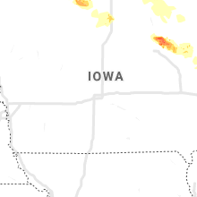 Regional Hail Map for Des Moines, IA - Saturday, September 5, 2020