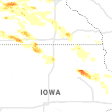 Hail Map for mason-city-ia 2020-09-05