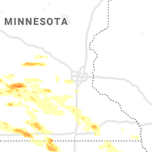 Regional Hail Map for Minneapolis, MN - Saturday, September 5, 2020