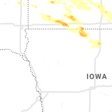 Regional Hail Map for Storm Lake, IA - Saturday, September 5, 2020