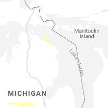 Regional Hail Map for Alpena, MI - Sunday, September 6, 2020