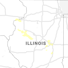 Regional Hail Map for Peoria, IL - Sunday, September 6, 2020