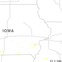 Regional Hail Map for Cedar Rapids, IA - Monday, September 7, 2020