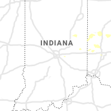 Regional Hail Map for Indianapolis, IN - Monday, September 7, 2020