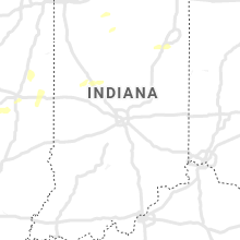 Regional Hail Map for Indianapolis, IN - Tuesday, September 8, 2020