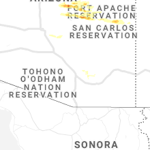 Regional Hail Map for Tucson, AZ - Tuesday, September 8, 2020