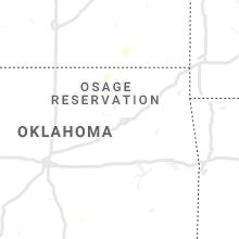Regional Hail Map for Tulsa, OK - Tuesday, September 8, 2020