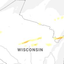 Regional Hail Map for Rhinelander, WI - Saturday, September 26, 2020