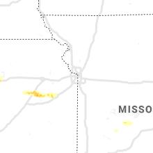 Hail Map for kansas-city-mo 2020-09-27