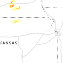 Regional Hail Map for Manhattan, KS - Sunday, October 11, 2020