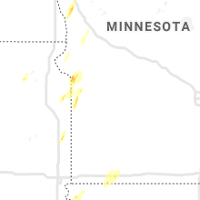 Regional Hail Map for Montevideo, MN - Sunday, October 11, 2020