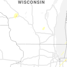 Regional Hail Map for Madison, WI - Monday, October 12, 2020