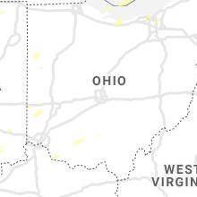 Regional Hail Map for Columbus, OH - Friday, October 23, 2020